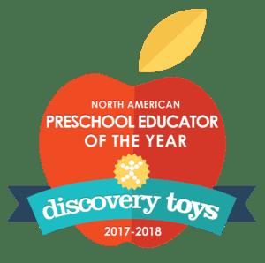 Preschool Educator of the Year Logo
