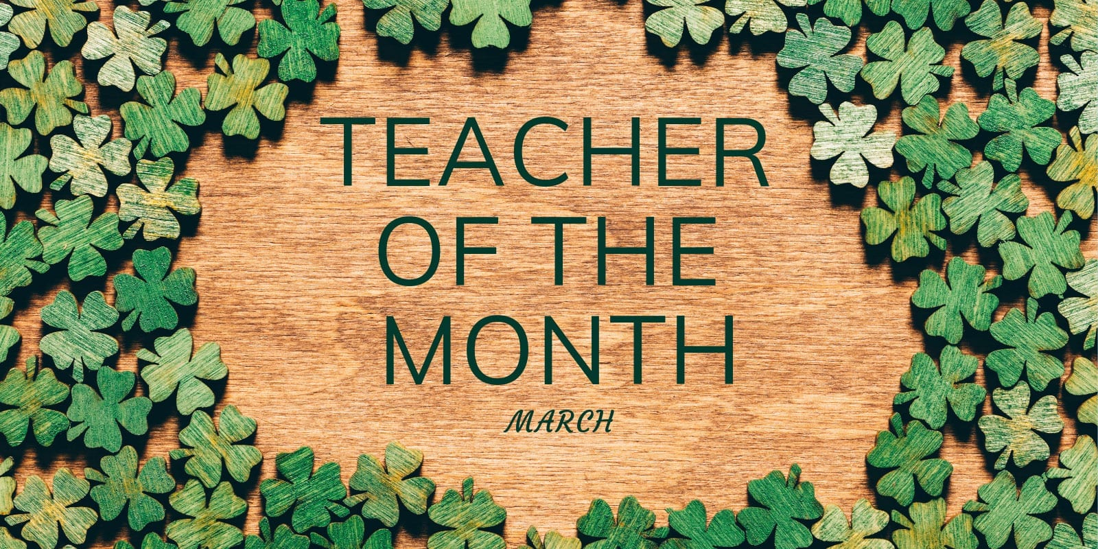 Little Sunshine's Playhouse Teacher of the Month March