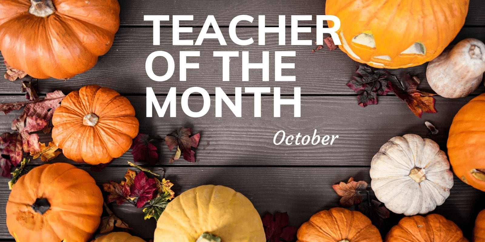 Little Sunshine's Playhouse Teacher of the Month October
