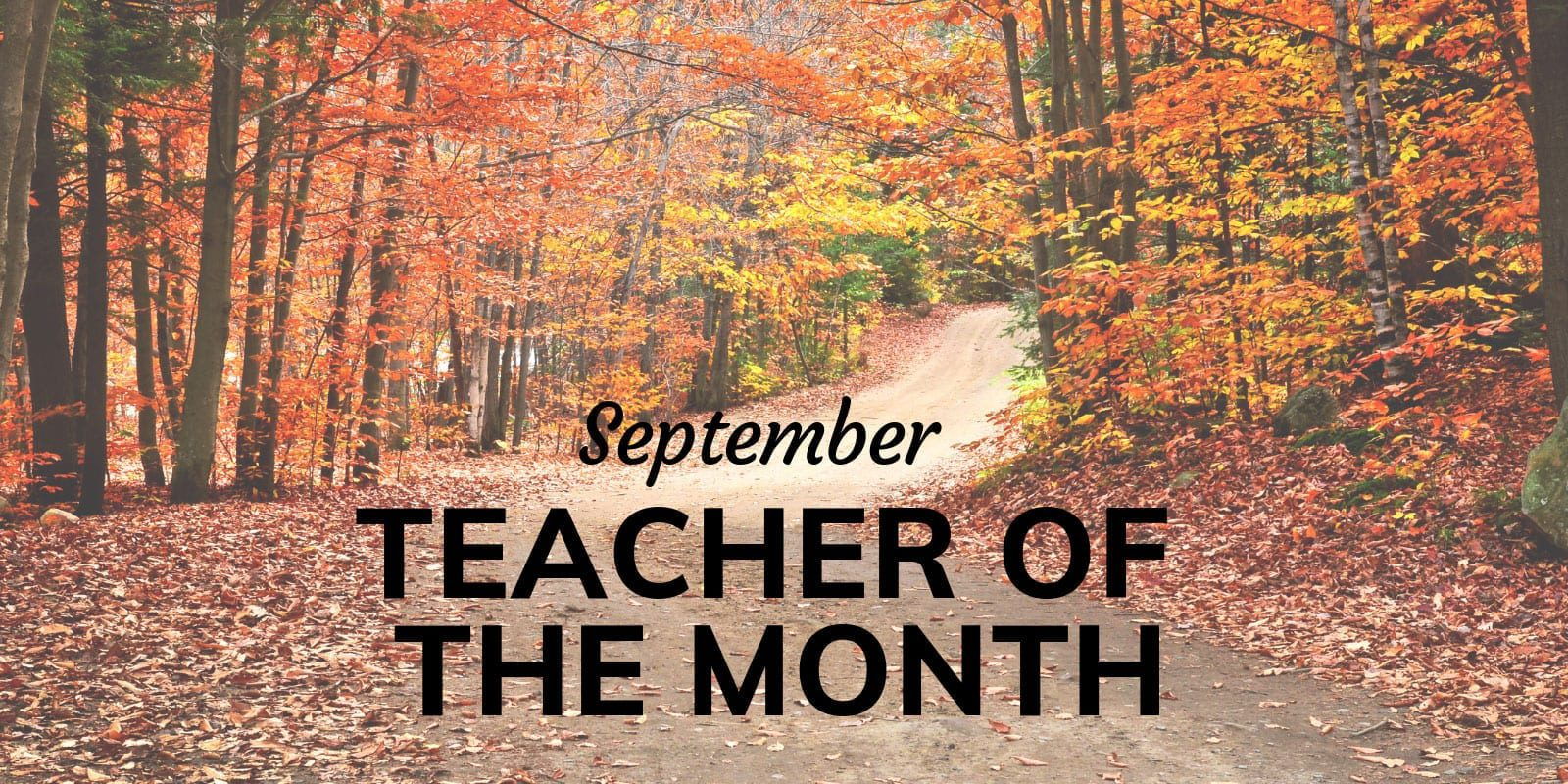 Little Sunshine's Playhouse Teacher of the Month September