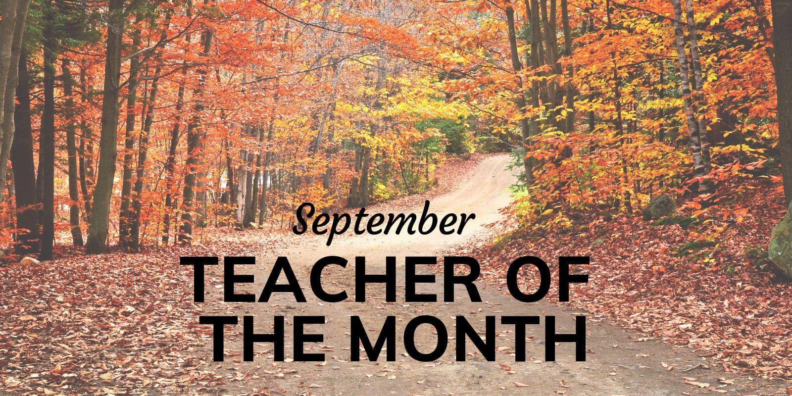 Little Sunshine's Playhouse Teacher of the Month September
