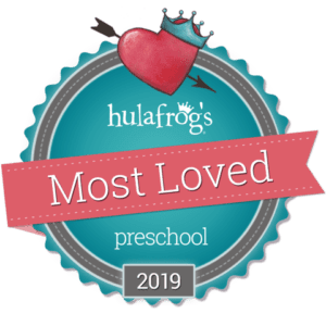 Hulafrog Most Loved Preschool 2019 Logo