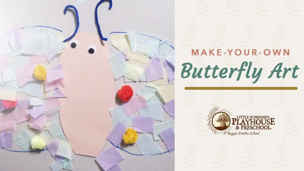 Butterfly art craft graphic