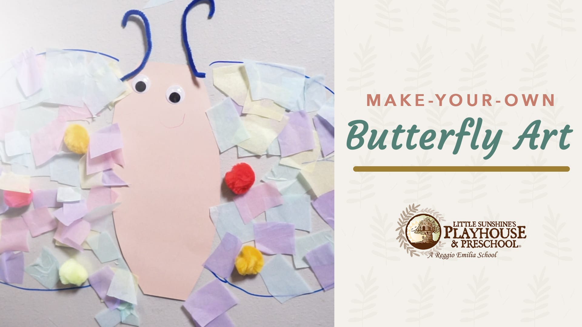 Contact Paper Butterfly Activity