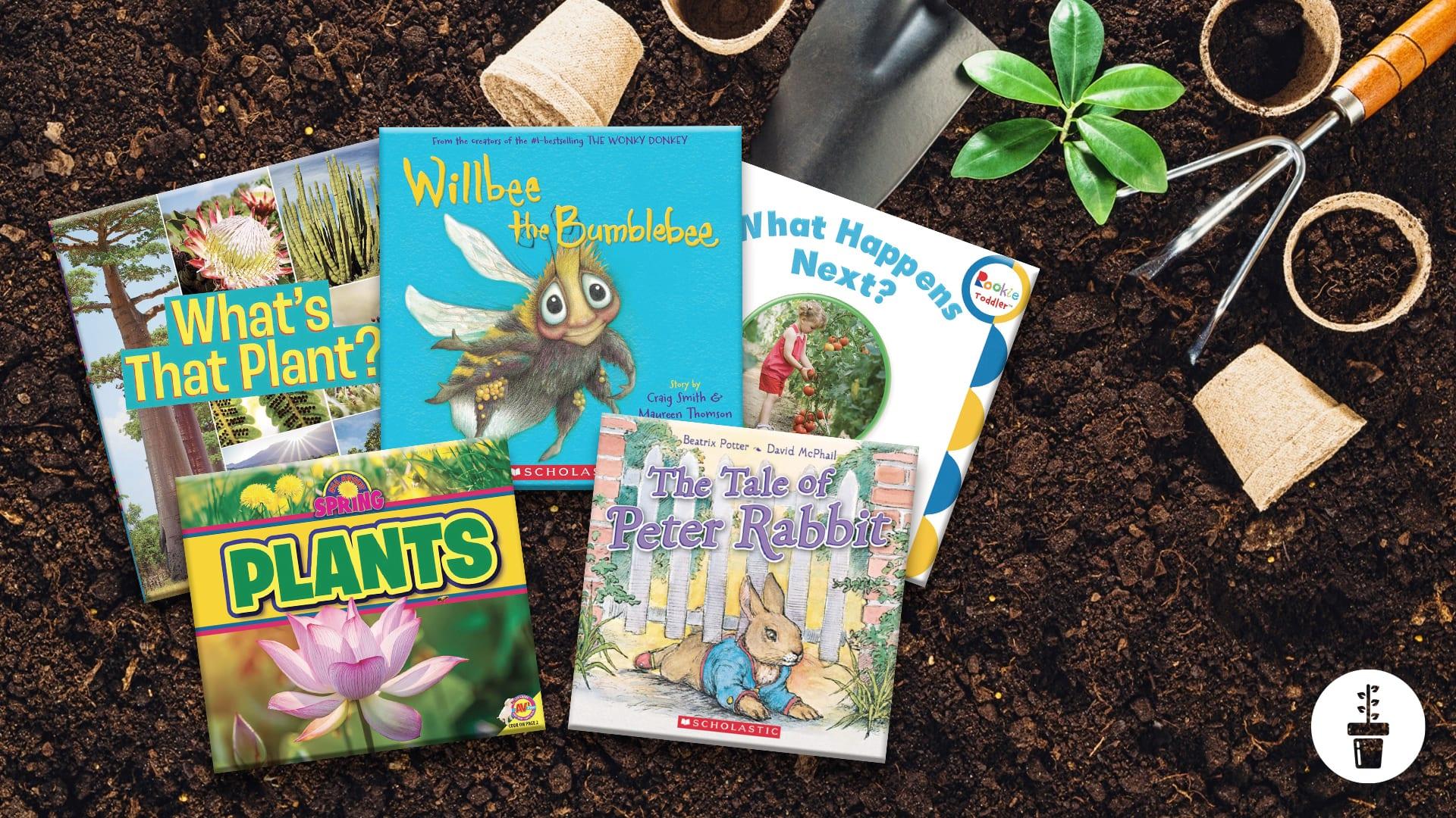 The Best Gardening Books for Preschoolers
