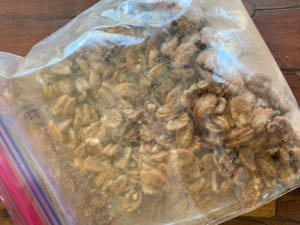 Kitchen Activity: Roasted Cinnamon Sugar Pecans