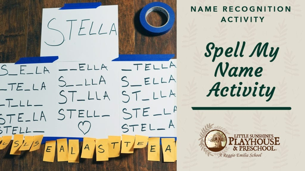 Spell My Name Activity